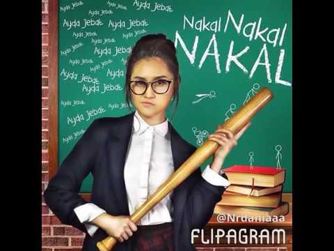 Video Ayda jebat-  nakal nakal nakal lyrics download in MP3, 3GP, MP4, WEBM, AVI, FLV January 2017