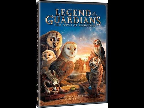 Opening To Legend Of The Guardians:The Owls Of Ga'Hoole 2010 DVD