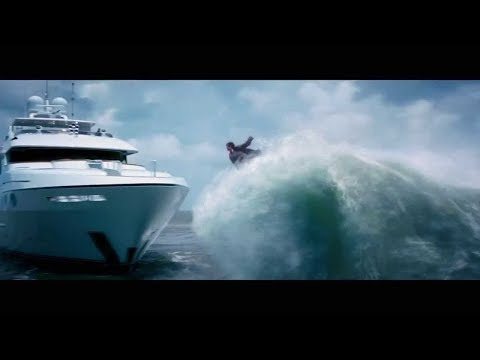 Percy Surfing Scene | Percy Jackson (2013)