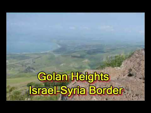 Syria's Army to the Golan Heights; New  GENTILE General for UNDOF Jan 2010 (Masada OST)