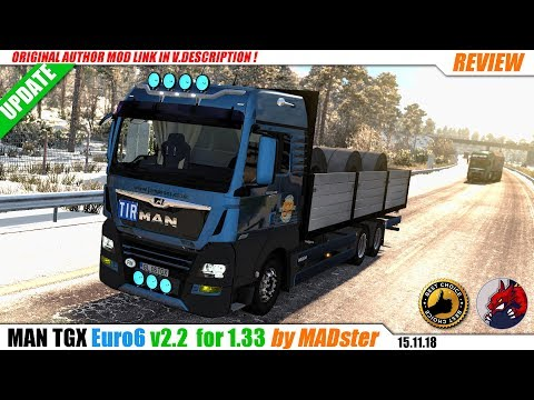 MAN TGX Euro 6 v2.2