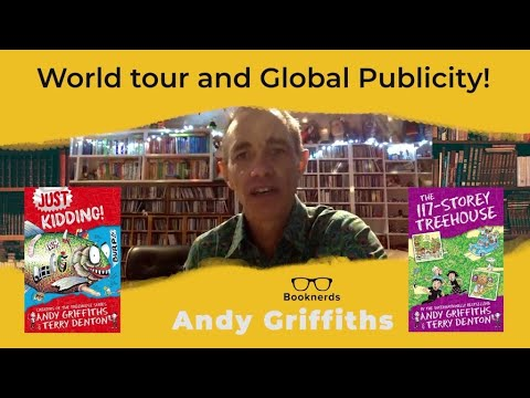 World Tour and Global Publicity | Andy Griffiths