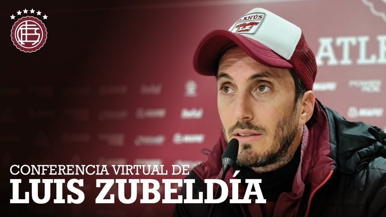 Conferencia de Luis Zubeldía antes del Rojo