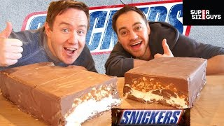 GIANT SNICKERS by  My Virgin Kitchen