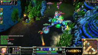 (HD120) Tutoriel support / map control - League Of Legends Replay [FR]