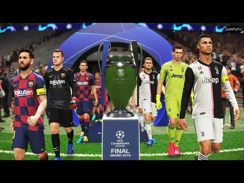 Juventus vs Barcelona - Final UEFA Champions League UCL - Penalty Shootout - - - PES 2019