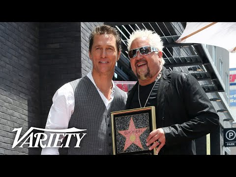 Guy Fieri Walk of Fame Ceremony