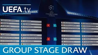 Video Full group stage draw: 2016/17 UEFA Champions League MP3, 3GP, MP4, WEBM, AVI, FLV Oktober 2017
