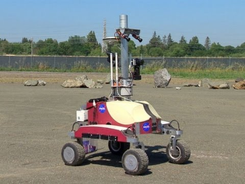moon - http://cnet.co/10yFlX9 With the success of the Mars rover Curiosity, NASA is now developing planetary-exploration rovers designed to be controlled by astrona...