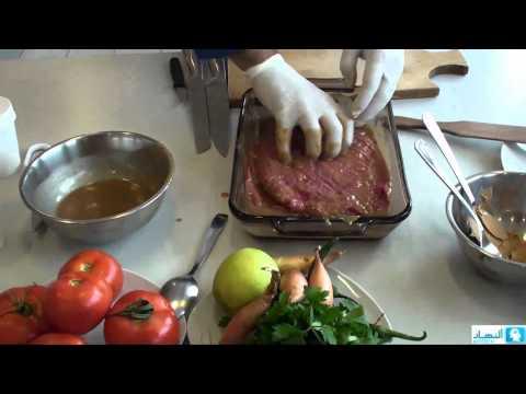 Shawarma by Chef Chady | شاورما اللحمة المتبلة - نهارك
