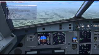 Time Lapse / A320 / LSZH to LSGG / [FSX]