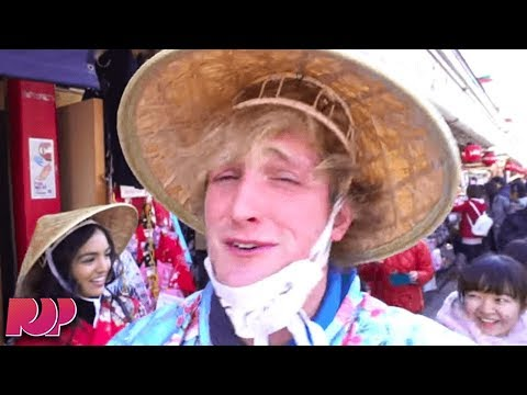 The Rest Of Logan Paul's Tokyo Trip Was Just As Offensive