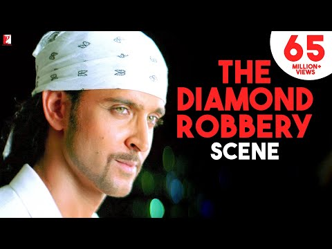 The Diamond Robbery Scene | Dhoom:2 | Hrithik Roshan, Abhishek Bachchan, Uday Chopra | Movie Scenes