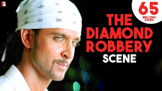 The Diamond Robbery  Scene  Dhoom2  Hrithik Roshan