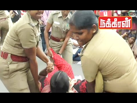 Police-forcefully-arrest-RSYF-activists-for-protesting-against-New-Education-Policy