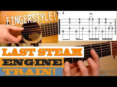 """Last Steam Engine Train"" – Leo Kottke Style 