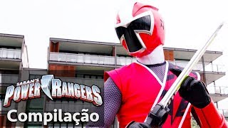Video Power Rangers em Português | Power Rangers Salvam o Dia! | Power Rangers Super-heróis MP3, 3GP, MP4, WEBM, AVI, FLV Juli 2018