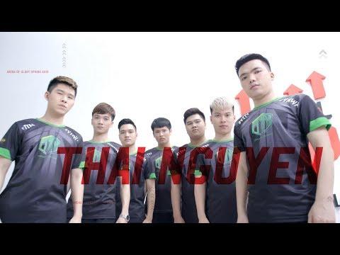 """TEAM THAINGUYEN: """"Tao yếu nhưng anh em tao đông"""" - Team Profile - Đấu Trường Danh Vọng mùa Xuân 2019 - Thời lượng: 2 phút, 35 giây."""