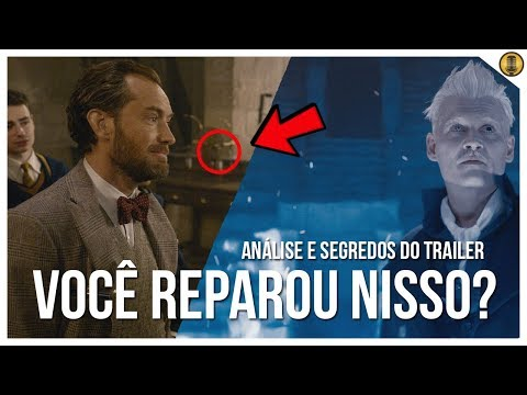 ANÁLISE COMPLETA E SEGREDOS DO NOVO TRAILER DE CRIMES DE GRINDELWALD
