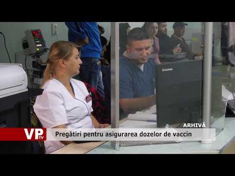 Pregătiri pentru asigurarea dozelor de vaccin