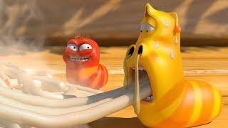 Video LARVA - SPICY NOODLES | Cartoon Movie | Cartoons For Children | Larva Cartoon | LARVA Official MP3, 3GP, MP4, WEBM, AVI, FLV Agustus 2018