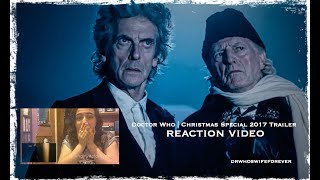 Doctor Who 'Twice Upon A Time' Christmas Special 2017 REACTION VIDEO Apologies for the picture quality and sound quality (I recommend turning up the ...