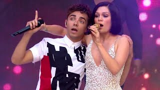 Jessie J Ft. Nathan Sykes - Calling All Hearts (Summertime Ball 2014) - YouTube