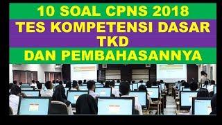 Download Video Pembahasan Soal Latihan CPNS TKD 2018 MP3 3GP MP4