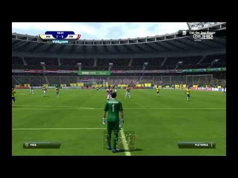 X360 - 2014 FIFA WORLD CUP EXCLUSIVE FIRST GAMEPLAY. Brazil - Croatia Music: Bellini - Samba de Janeiro.