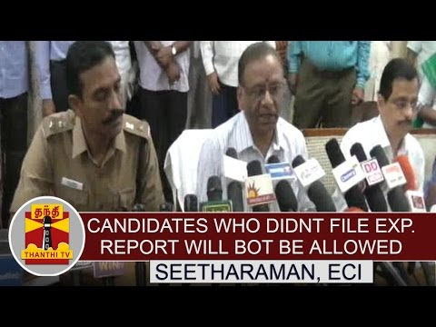Candidates-who-didnt-file-expenses-report-will-not-be-allowed-in-Upcoming-Elections--Seetharaman
