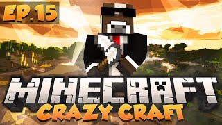 """Minecraft """"ROBOT ARMY"""" - CRAZY CRAFT Modded Survival - Ep. 15 ( Minecraft Crazy Craft )"""