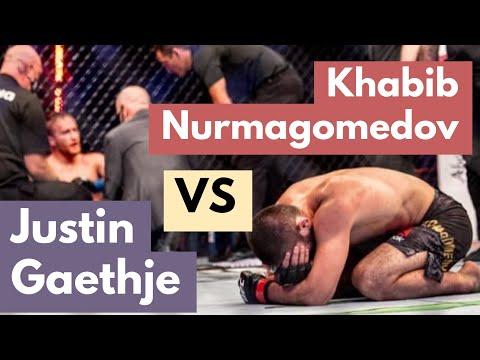 Khabib Nurmagomedov vs Justin Gaethje (Full Fight Gracie Breakdown)