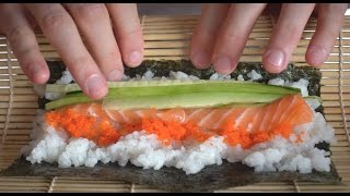 How to Make Sushi: Spicy Tuna and California Roll + Giveaway by Brothers Green Eats