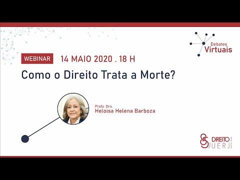 WEBINAR | Como o Direito Trata a Morte? | Professora Heloisa Helena Barboza | Direito / UERJ
