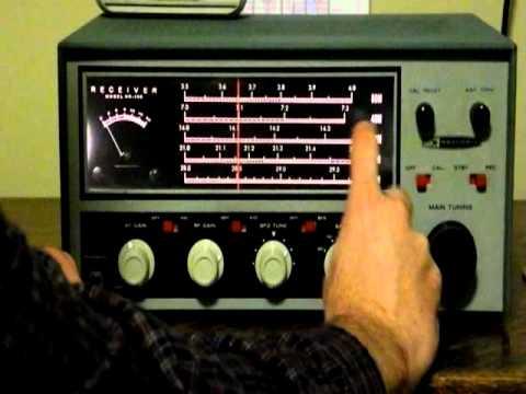 A Classic Ham Radio Receiver - The Heathkit HR-10B