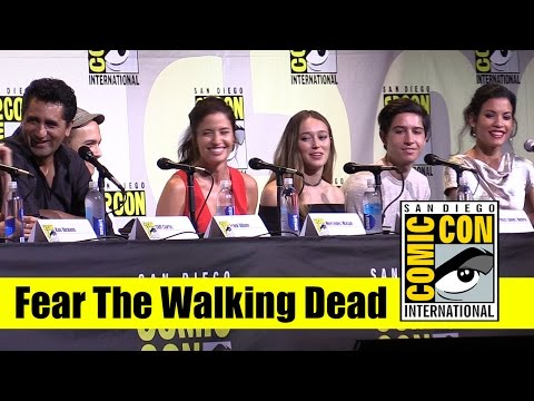 , title : 'Fear the Walking Dead | Comic Con 2016 Full Panel (Cliff Curtis and Kim Dickens)'