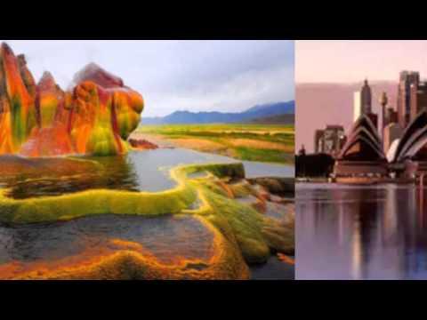 Путешествия,  красивая природа,  уголки мира. (видео)