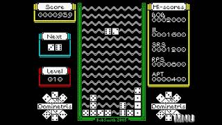 Dominetris [Beginner] (ZX Spectrum Emulated) by hughes10