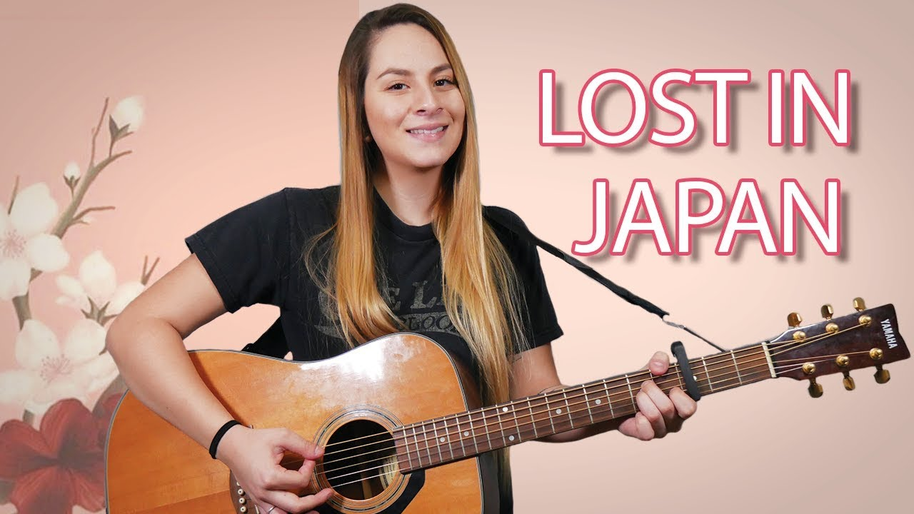 Lost in Japan Guitar Tutorial | Shawn Mendes | Easy Chords For Beginners!