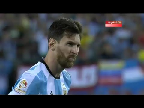 Copa America 2016 Final Highlights Argentina Vs Chile 2-4 (Penalties)