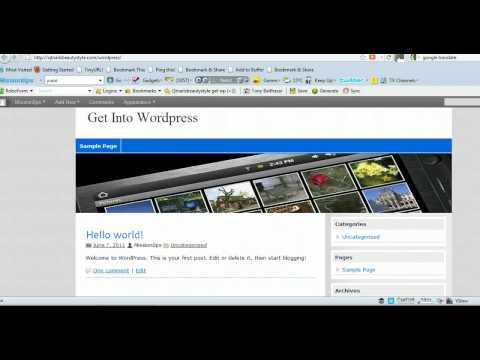 Wordpress Header Tutorial