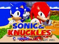 Mega Drive Longplay 001 Sonic Knuckles part 1 2