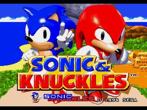 Sonic & Knuckles Megadrive