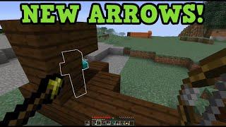 Minecraft 1.9 New Arrows - Spectral, Poison, HEALING Arrows?
