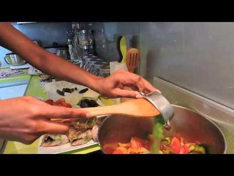 Cuisine Africaine Revisitée avec Coco (Riz gras au capitaine et revisité ma faà§on 1)