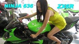 10. 2013 Kawasaki NINJA ZX6R 636 Super Sportbike