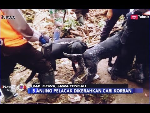 Tim SAR Terus Lakukan Pencarian 9 Korban Hilang Longsor Gowa - INews Sore 28/01