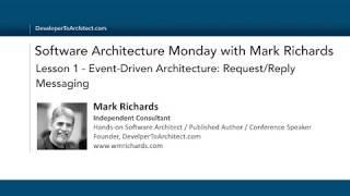 Lesson 1 - Event-Driven Architecture: Request/Reply Pattern