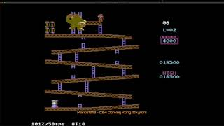Donkey Kong 2016 (Commodore 64 Emulated) by Marco1019