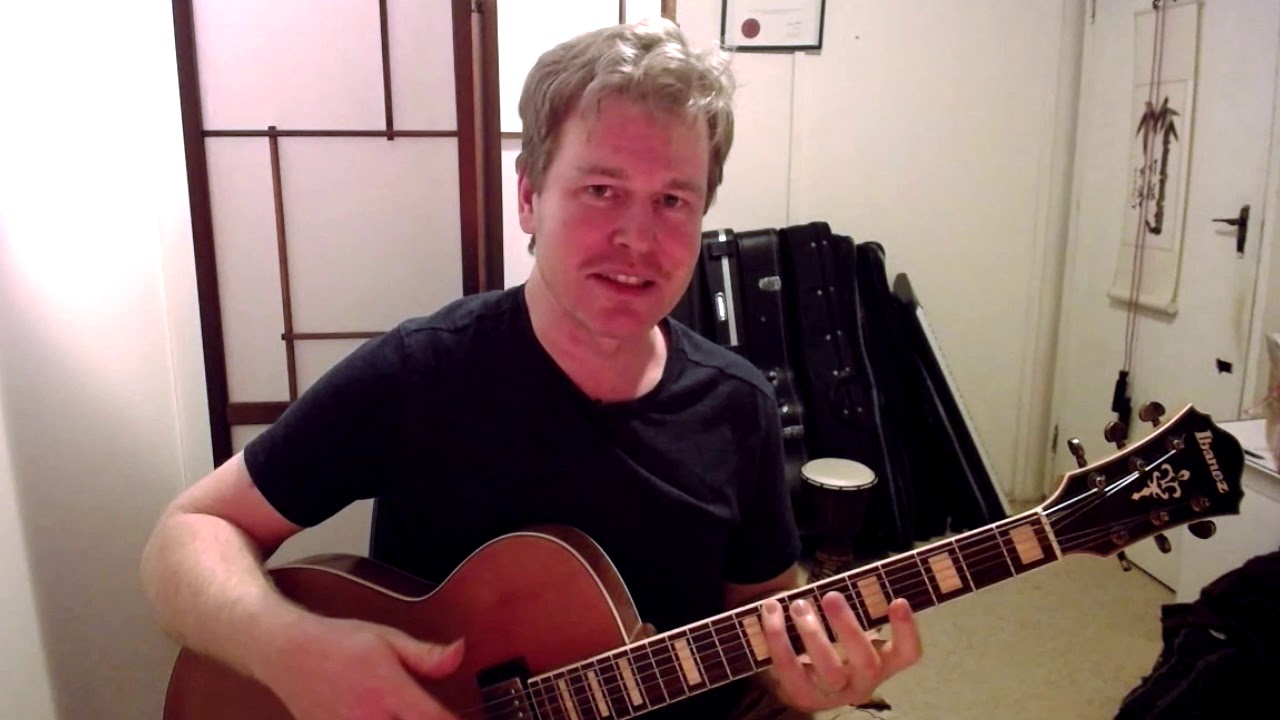 Learning Jazz Guitar Scale Patterns – Tips for Success